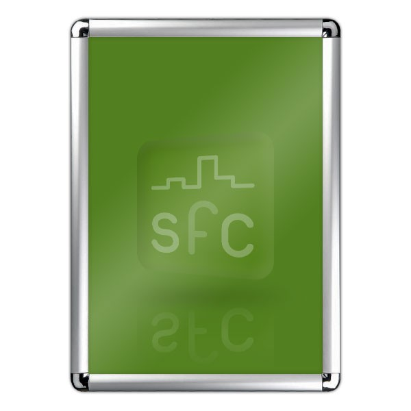 Corner Exhibition Stands Prices : A rounded corner snap frame snapframecity