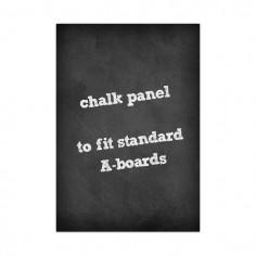 A2 Chalk Board Panel