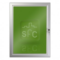 A4 Aluminium Lockable Poster Frame