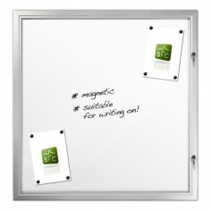Magnetic Locking Noticeboard 12 x A4