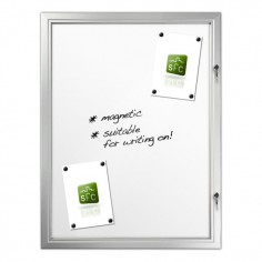Magnetic Locking Noticeboard 9 x A4