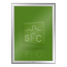 A2 Aluminium Lockable Snap Frame