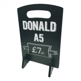 Donald A5 Table Top Chalkboard